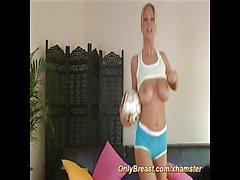 sporty big breast girls