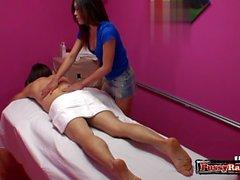 Asian pornstar sex with massage