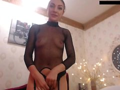 Sexy bitch solo masturbation
