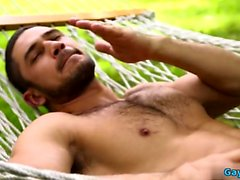 Muscle Gay sexo anal y facial