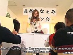 Japanese babe Naami Hasegawa group fucked