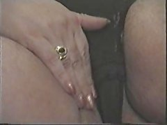 old and dirty mom shows pussy