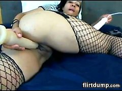 Hot Cam Chick With Her Dildo