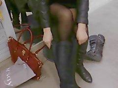 Schuhgeschäft ficken mit salesman