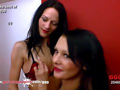 Anna And Aymie Sperm Goddesses - German Goo Girls