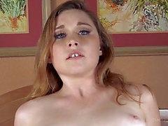 Redhead Teen sjuksköterska Anal och Creampie av Big Black Cock