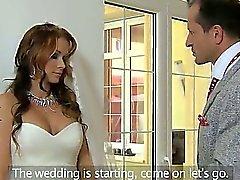 Huge Meisen Braut durchgefickt & creampied