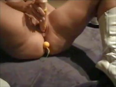 Hot big butt wife anal at home