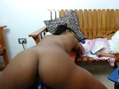 Hot latin woman pussy masturbate webcam