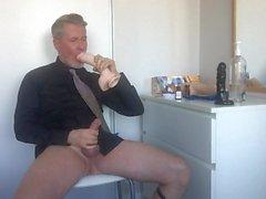 Pleine longueur cam show vidéo w Jeff Stryker gode