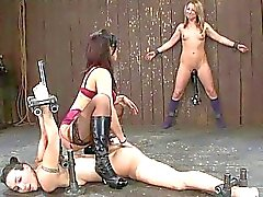 Wenona Isis Love and Jessie Cox Bondaged