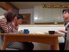 Kinky Asian MILF has passionate lovemaking session with young guy