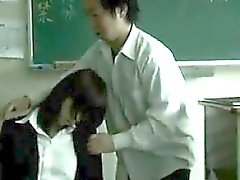 Drugged Up Asian Teacher Used By Students