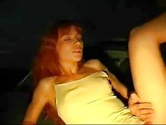 Swingers fuck in public