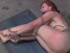 Redhead gets beaten