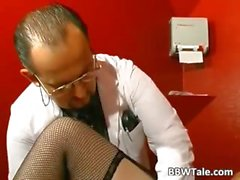 BBW mature slut in BDSM game of sex part1