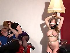 De lésbicas cativeiro da sala de visitas