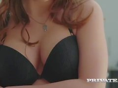 Evelina Darling, addicted to lingerie and and anal sex
