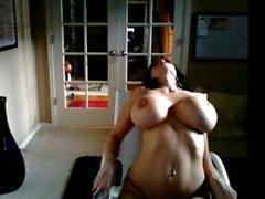 Brandy Robbins webcam striptease