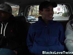 Gay twink gets bbc facial