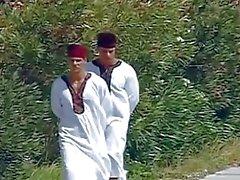 Arabischen Lust bei zwei heißen Brocken