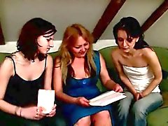Lustful teacher taught girls how to be lesbians.