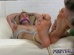 piedi di gay movietures artistica KC catturato, rilegati e venerata