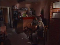 Ginevra Hollander DP in a bar