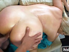 Pool dick riding with Willow Devine