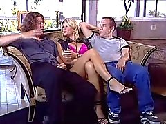 Big tits MILF Vicky Vette double-penetrated