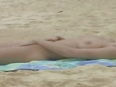 andie valentino naked on beach 2