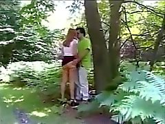 Homemade Dogging in the woods