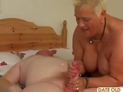 BBW Old Whore Ridding