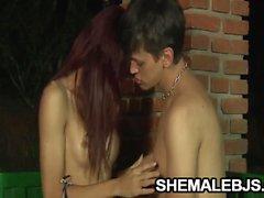 Michelli Cerqueira Skinny Redhead Shemale