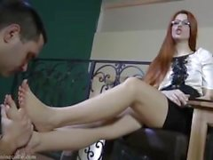 two miss foot slave