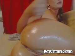 Sexy lady webcam show with toys and finger