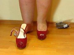 foot fetish, shoe fetish heels