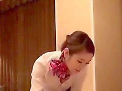 Kauniin Kuumaa japanilainen tyttö seksiä