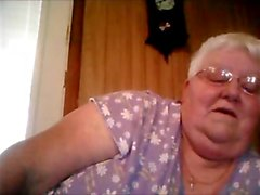 1fuckdatecom Webcam show from bbw granny