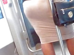 bunda sincero no trem