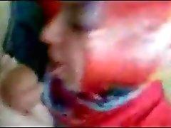 Turbanli Turk deliler gibi sakso cekiyor.. Hijab