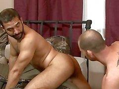 Two Homosexuell Brocken und das Schlafzimmer Geschlecht