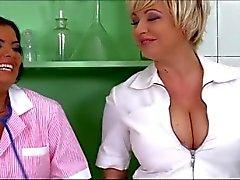 J.B. Doctor massage - titty fuck