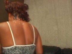 Big beautiful black woman and her skinny ebony friend