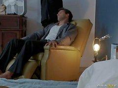 Man gets seduced by Big titted Kagney Linn Karter