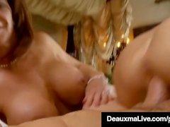 Sexy Milf Deauxma Bandeaux Kelly Madison & Fucks Mon mari!