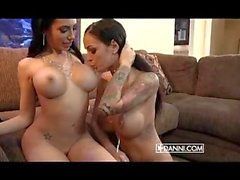 Lela Star & Angelina Valentine due