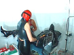 twin rubber dommes