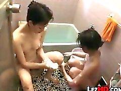 Getting Wet In The Bathroom