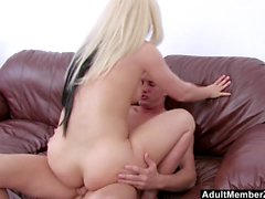 AdultMemberZone - Blondes First Time in Front of a Camera